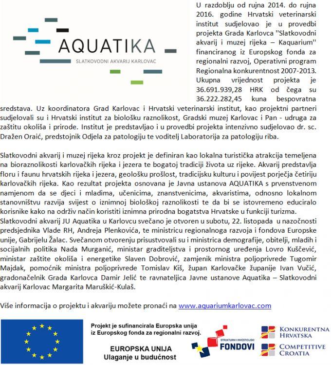 Aquatika - slatkovodni akvarij i muzej rijeka